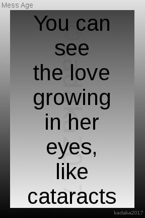 Love is blinding